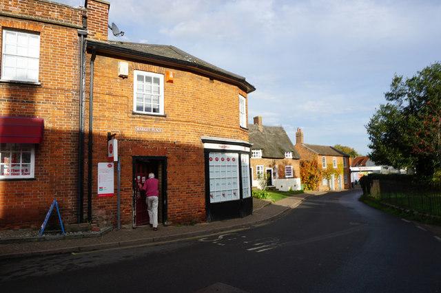Post Office, Market Place, Reepham