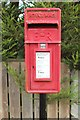 NU2406 : Postbox, Station Road, Warkworth by Graham Robson