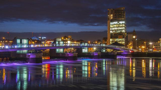 The Lagan Weir, Belfast