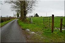 H5070 : An open field along Dryarch Road by Kenneth  Allen