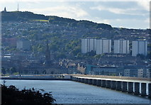 NO4030 : City of Dundee and the Tay Road Bridge by Mat Fascione