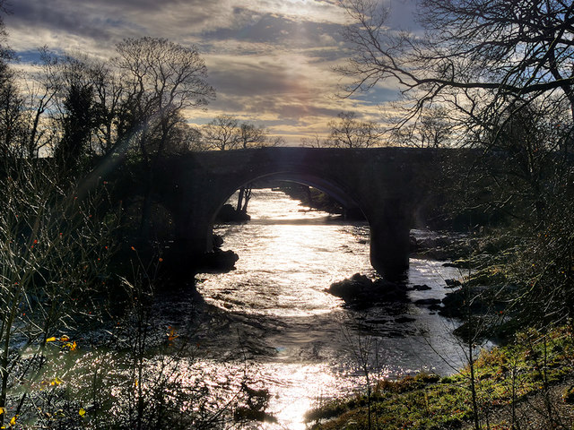 River Lune, Devil's Bridge at Kirkby Lonsdale