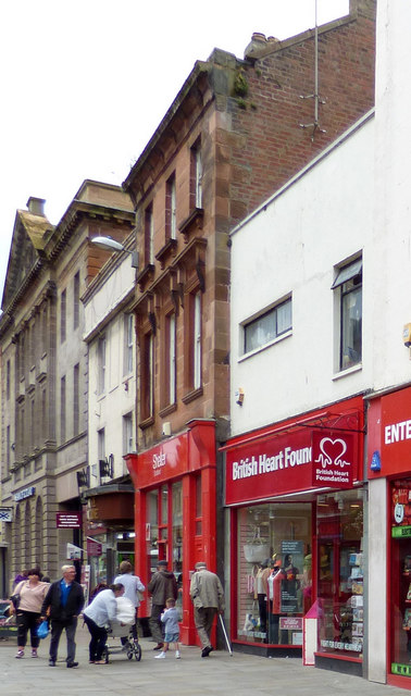 British Heart Foundation shop, Ayr High Street