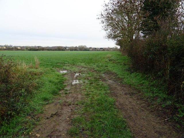 Field entrance