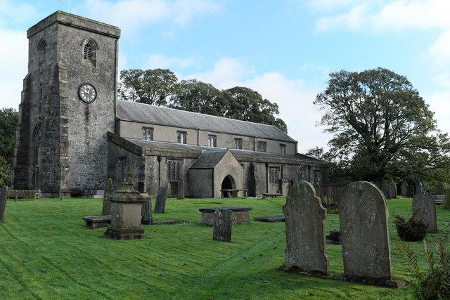 St Andrew's church Slaidburn