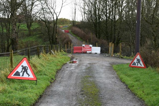 Dreenen Road still closed, Bancran