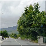 V6866 : N70 passing the Garda Station by N Chadwick