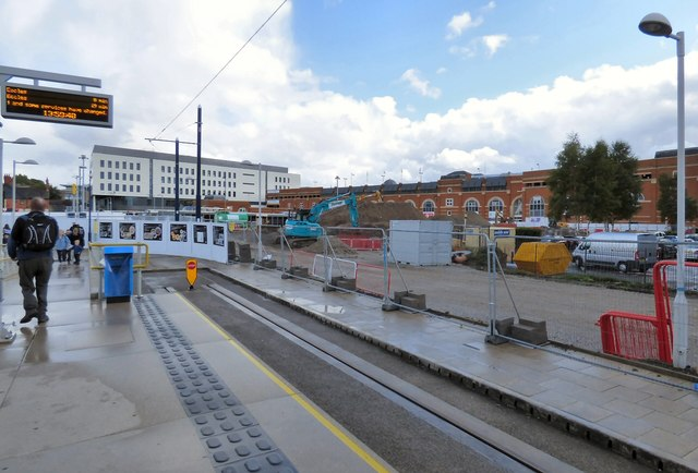 Tameside Interchange work