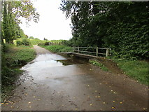SO7334 : Ford near Clencher's Mill by Jonathan Thacker