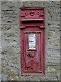 ST9794 : Victorian letterbox by Philip Halling