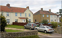 ST8080 : Houses, Tormarton Rd, Acton Turville, Gloucestershire 2011 by Ray Bird