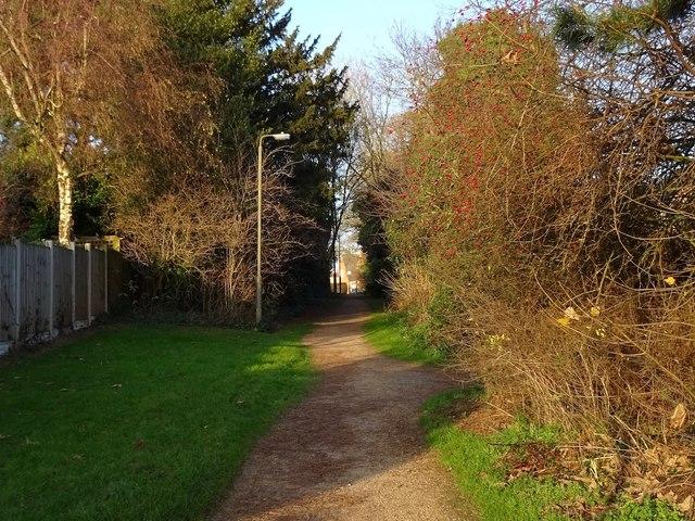Old line of Porter's Lane