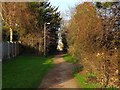 SK3738 : Old line of Porter's Lane by Ian Calderwood