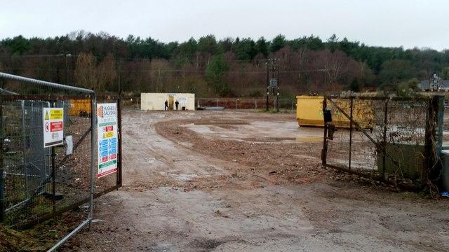 Brownfield site, Newtown Road