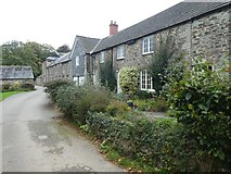 SX1061 : Cottages, Restormel Farm by David Smith