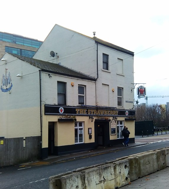 The Strawberry, Newcastle