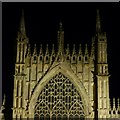 SE6052 : York Minster, east end by Alan Murray-Rust