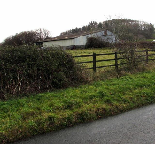 Farm building south of Llanfaes, Brecon