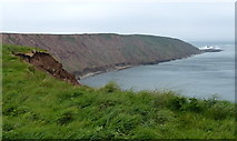 TA1281 : Filey Brigg at the northern end of Filey Bay by Mat Fascione