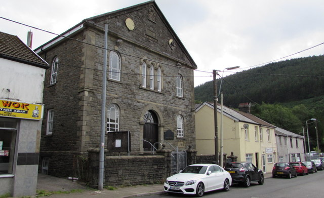 Grade II listed former Bethlehem Baptist Chapel, Ogmore Vale