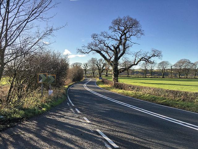 A683 near Hornby