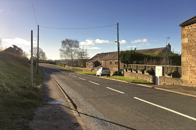 A683 at Melling