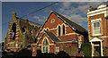 SX9372 : Church hall and church, Shaldon by Derek Harper