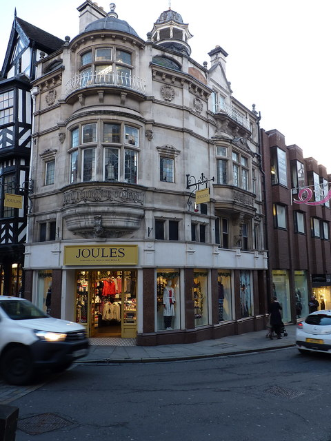 'Joules' in the former Alliance and Leicester building