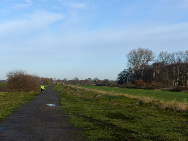 Trans Pennine Trail and National Cycle Route 62, Burn Airfield