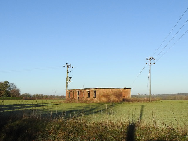 Disused military installation connected with radar