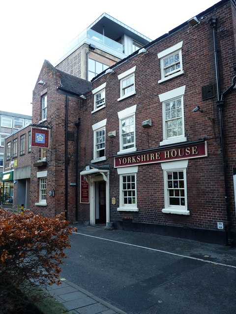 The Yorkshire House pub, St Mary's Place