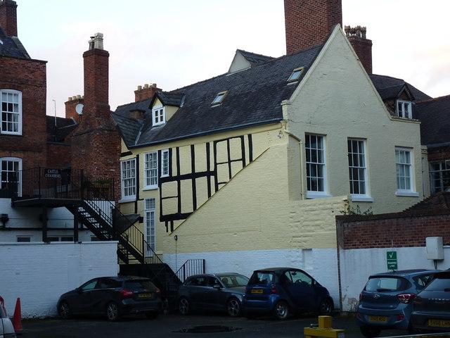 Windsor Lodge (or Perches Mansion), Castle Street, Shrewsbury