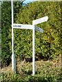 TG5100 : Signpost on Dorking Road by Adrian Cable