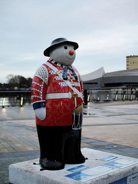 Walking with the Snowman™ #12 Twelve Drummers Drumming