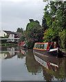 SK4430 : Trent and Mersey Canal in Shardlow, Derbyshire by Roger  Kidd