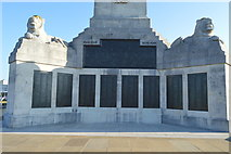 SX4753 : Plymouth Naval Memorial - south panels by N Chadwick