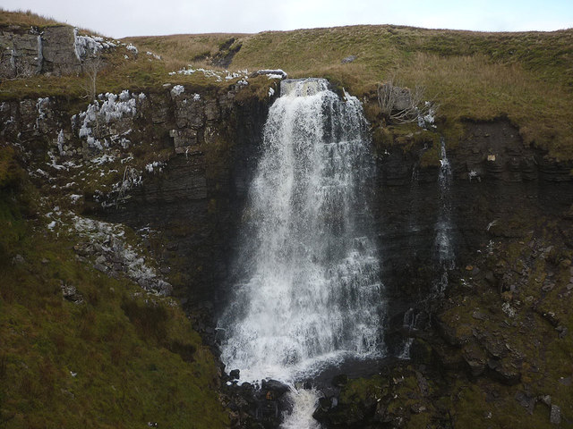 High Force (the Mare's Tail), Force Gill