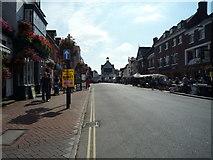 SO7193 : High Street (Bridgnorth) by Fabian Musto