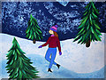 SJ8097 : Walking with the Snowman™, Lady Dancing by David Dixon