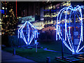 SJ8097 : Lightwaves 2018, The Green at MediaCityUK by David Dixon