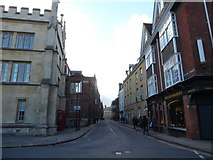 TL4458 : A round the colleges route to Downing Street (26) by Basher Eyre