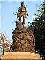 SD9205 : Oldham War Memorial by David Dixon