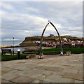NZ8911 : Whalebone Arch by Gerald England