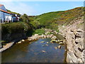 TA0390 : Scalby Beck (Sea Cut) at Scalby Ness by Mat Fascione