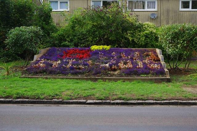 Flowerbed, Brize Norton Road, Carterton, Oxon