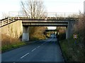 SE6025 : Railway bridges at Temple Hirst by Alan Murray-Rust