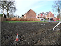 SE3321 : Open space off College Grove Road, Wakefield by Christine Johnstone