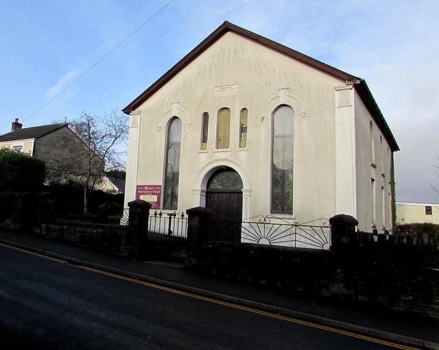 Penuel Congregational Chapel, High Street, Nelson