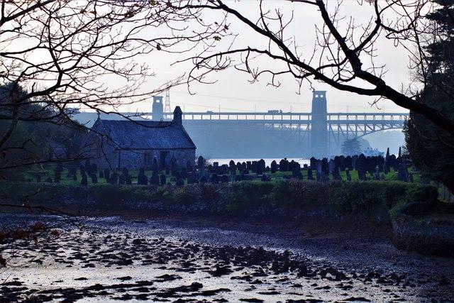 Ynys Tysilio (Church Island), Menai Bridge Anglesey