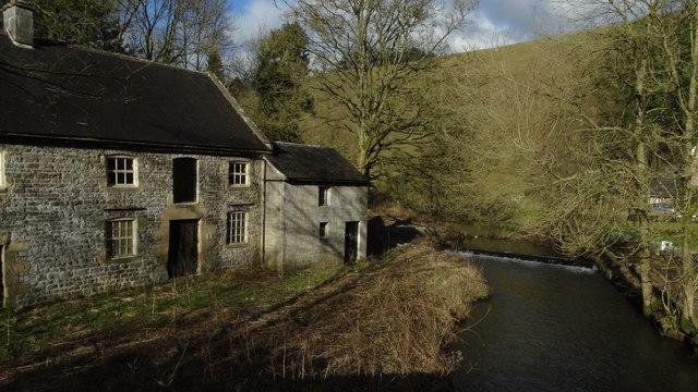 Former Lode Mill near Alstonefield